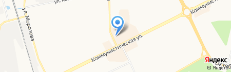 Воображарий на карте Сыктывкара
