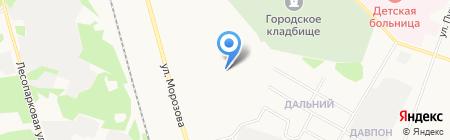 Общежитие на карте Сыктывкара