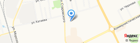 Сыктывкарский индустриальный колледж на карте Сыктывкара