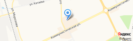 Сеть фирменных ликеро-водочных магазинов на карте Сыктывкара