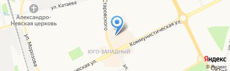 Магазин парфюмерии на карте Сыктывкара