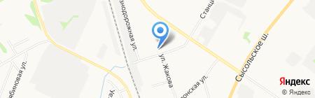 Ремонтно-отделочная компания на карте Сыктывкара
