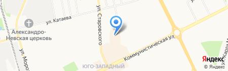 ИМПУЛЬС-С на карте Сыктывкара