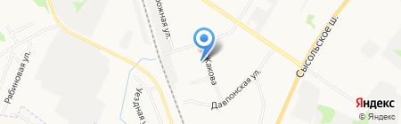 РЯДЫШКОМ на карте Сыктывкара