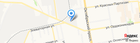 Сыктывкарская центральная водогрейная котельная на карте Сыктывкара