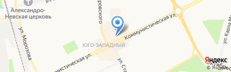 Рив Гош на карте Сыктывкара