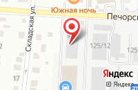 Схема проезда до компании Пролонг 11 в Сыктывкаре