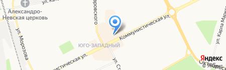 Экспресс Финанс на карте Сыктывкара