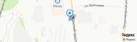 АЗС на карте Сыктывкара