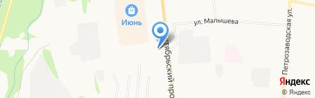 H2O на карте Сыктывкара