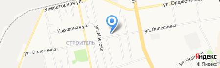 Сыктывкарский линейно-технологический узел связи на карте Сыктывкара