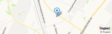 Почтовое отделение №2 на карте Сыктывкара