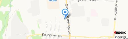 Магазин мяса и морепродуктов на Октябрьском проспекте на карте Сыктывкара