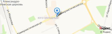 Золотой на карте Сыктывкара