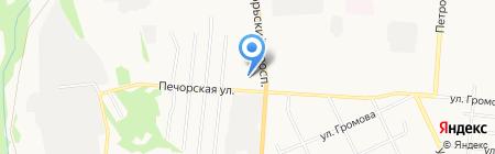 Окорочок на карте Сыктывкара