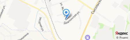 Омега-Строй Сервис на карте Сыктывкара