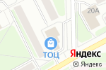 Схема проезда до компании Ростком в Сыктывкаре