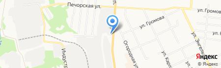 Аквариус на карте Сыктывкара