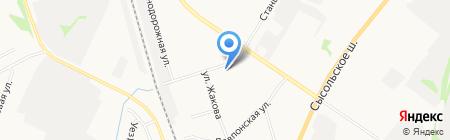 АвтоДавпон магазин автозапчастей для ГАЗ ВАЗ на карте Сыктывкара