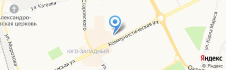 Магазин джинсовой одежды на Коммунистической на карте Сыктывкара