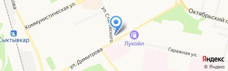 Корпорация Центр на карте Сыктывкара