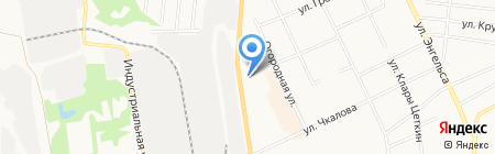 Сток Центр на карте Сыктывкара