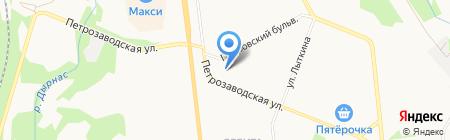 СНИПстрой на карте Сыктывкара