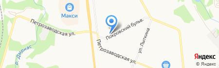Оптика-Люкс на карте Сыктывкара