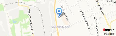 НОРД-ОПТ на карте Сыктывкара