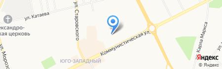Швейная мастерская на карте Сыктывкара