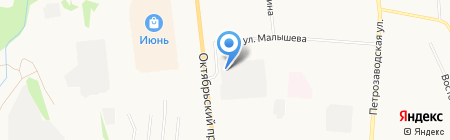 Перестройка на карте Сыктывкара