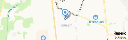 Амбулатория на карте Сыктывкара