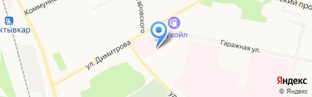 Республиканский противотуберкулезный диспансер на карте Сыктывкара