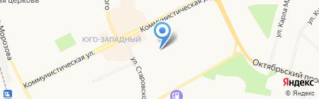 Детский сад №86 Кораблик на карте Сыктывкара