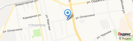 Парус на карте Сыктывкара