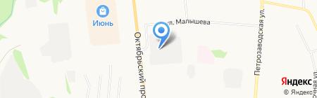 КОМИ ГОР на карте Сыктывкара