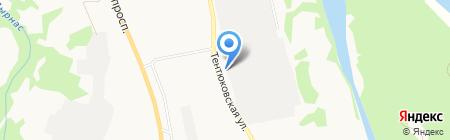Овощная ярмарка на карте Сыктывкара