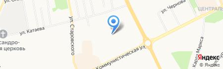 Заказ-инвест на карте Сыктывкара