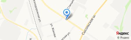 Страхование рядом на карте Сыктывкара