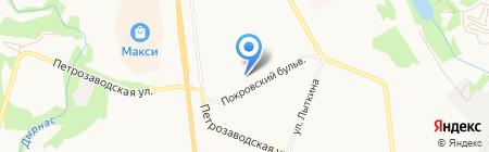 Магазин мясной продукции на Покровском бульваре на карте Сыктывкара