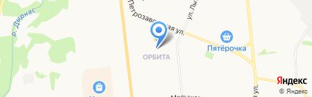 Валенсия на карте Сыктывкара