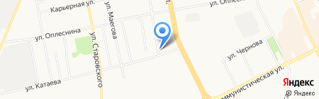 ГАЗФОНД на карте Сыктывкара