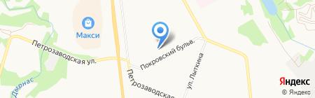 Киоск по продаже воды на карте Сыктывкара
