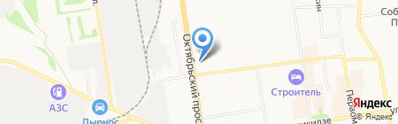 Государственные аптеки Республики Коми на карте Сыктывкара