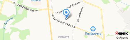 Окна 21 ВЕКА на карте Сыктывкара