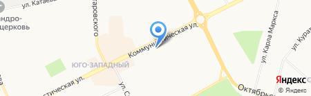 Целитель на карте Сыктывкара