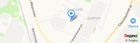 БТК на карте Сыктывкара
