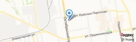 Евролюкс-сервис на карте Сыктывкара