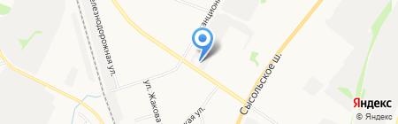 Сеть магазинов на карте Сыктывкара