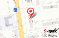 Схема проезда до компании Автолюкс в Сыктывкаре